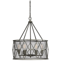 Savoy House 7-2162-6-119 Arbor 6 Light 23 inch Smoke Pendant Ceiling Light