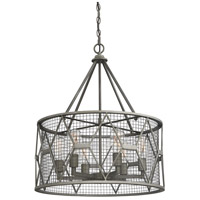 Savoy House 7-2162-6-119 Arbor 6 Light 23 inch Smoke Pendant Ceiling Light alternative photo thumbnail