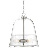 Savoy House 7-2180-3-SN Dash 3 Light 18 inch Satin Nickel Pendant Ceiling Light
