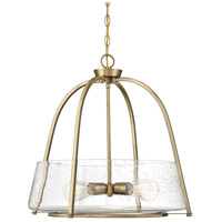 Savoy House 7-2181-4-322 Dash 4 Light 22 inch Warm Brass Pendant Ceiling Light