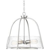 Savoy House 7-2181-4-SN Dash 4 Light 22 inch Satin Nickel Pendant Ceiling Light
