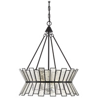 Savoy House 7-2191-6-13 Chapelle 6 Light 24 inch English Bronze Chandelier Ceiling Light