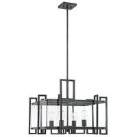 Savoy House 7-2281-4-150 Bennington 4 Light 24 inch Black Steel Pendant Ceiling Light
