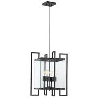 Savoy House 7-2282-4-150 Bennington 4 Light 18 inch Black Steel Pendant Ceiling Light photo thumbnail