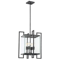 Savoy House 7-2282-4-150 Bennington 4 Light 18 inch Black Steel Pendant Ceiling Light alternative photo thumbnail