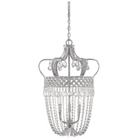 Savoy House 7-2441-3-118 Rochelle 3 Light 17 inch Charisma Pendant Ceiling Light