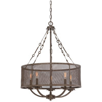 Savoy House Nouvel 5 Light Pendant in Galaxy Bronze 7-2502-5-42