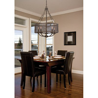 Savoy House Nouvel 5 Light Pendant in Galaxy Bronze 7-2502-5-42 alternative photo thumbnail