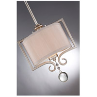 Savoy House 7-255-1-307 Rosendal 1 Light 10 inch Silver Sparkle Mini Pendant Ceiling Light alternative photo thumbnail