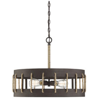 Savoy House 7-2661-4-32 Leland 4 Light 23 inch Artisan Rust Pendant Ceiling Light