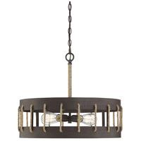 Savoy House 7-2661-4-32 Leland 4 Light 23 inch Artisan Rust Pendant Ceiling Light