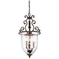 Savoy House 7-3006-3-8 St. Laurence 3 Light 15 inch New Tortoise Shell with Silver Pendant Ceiling Light alternative photo thumbnail