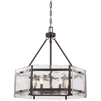 Savoy House 7-3040-6-13 Glenwood 6 Light 27 inch English Bronze Pendant Ceiling Light
