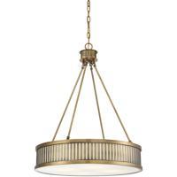 Savoy House 7-3103-4-322 William 4 Light 24 inch Warm Brass Pendant Ceiling Light