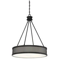 Savoy House 7-3103-4-44 William 4 Light 24 inch Classic Bronze Pendant Ceiling Light