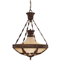 Savoy House Corsica 6 Light Pendant in New Tortoise Shell 7-3417-6-56
