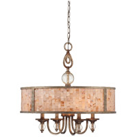 Savoy House Acacia 4 Light Pendant in Oxidized Silver 7-3536-4-128