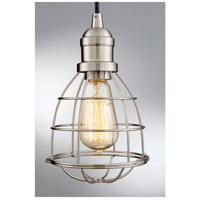 Savoy House 7-4130-1-SN Vintage 1 Light 6 inch Satin Nickel Mini Pendant Ceiling Light alternative photo thumbnail