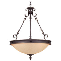 Savoy House Bourges 5 Light Pendant in Forged Black 7-4317-5-17 photo thumbnail