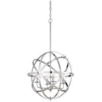 Savoy House 7-4353-4-CH Dias 4 Light 20 inch Chrome Orb Pendant Ceiling Light, Orb