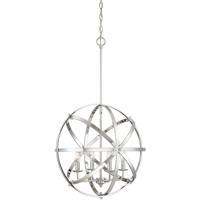 Savoy House 7-4353-4-CH Dias 4 Light 20 inch Chrome Orb Pendant Ceiling Light Orb