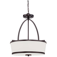 Hagen 3 Light 18 inch English Bronze Pendant Ceiling Light