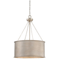 Savoy House Rochester 4 Light Pendant in Silver Patina 7-487-4-53