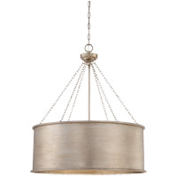 Savoy House Rochester 6 Light Pendant in Silver Patina 7-488-6-53