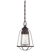 Savoy House 7-5060-1-13 Vintage 1 Light 8 inch English Bronze Mini Pendant Ceiling Light photo thumbnail