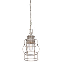 Savoy House 7-5061-1-SN Vintage 1 Light 7 inch Satin Nickel Mini Pendant Ceiling Light