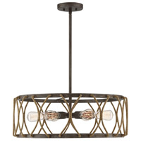 Savoy House 7-5301-6-32 Keating 6 Light 25 inch Artisan Rust Pendant Ceiling Light