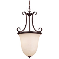 Willoughby 2 Light 15 inch English Bronze Pendant Ceiling Light