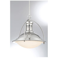 Savoy House 7-602-1-109 Stowe 1 Light 13 inch Polished Nickel Pendant Ceiling Light alternative photo thumbnail