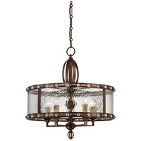 Savoy House Paragon 5 Light Pendant in Gilded Bronze 7-6031-5-131 photo thumbnail