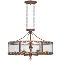 Savoy House Paragon 6 Light Island Light in Guilded Bronze 7-6035-6-131