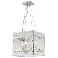 Addison 4 Light 14 inch Polished Nickel Pendant Ceiling Light