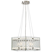 Addison 5 Light 18 inch Polished Nickel Pendant Ceiling Light