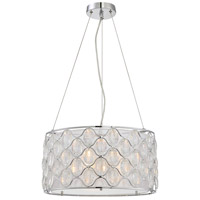 Opus 3 Light 18 inch Polished Chrome Pendant Ceiling Light