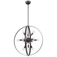 Marly 12 Light 25 inch Classic Bronze Chandelier Ceiling Light