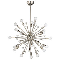 Savoy House 7-6099-24-109 Galea 24 Light 23 inch Polished Nickel Chandelier Ceiling Light