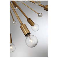 Savoy House 7-6099-24-322 Galea 24 Light 23 inch Warm Brass Chandelier Ceiling Light alternative photo thumbnail