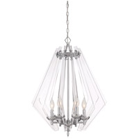 Newell 6 Light 24 inch Chrome Pendant Ceiling Light
