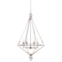 Tekoa 6 Light 26 inch Polished Nickel Pendant Ceiling Light