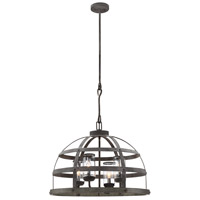 Aiken 4 Light 26 inch Winterwood Outdoor Pendant