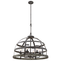 Savoy House 7-7091-6-49 Aiken 6 Light 32 inch Winterwood Outdoor Pendant alternative photo thumbnail