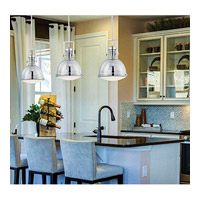 Savoy House Signature 1 Light Pendant in Polished Nickel 7-730-1-109