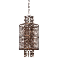 Savoy House Barclay 4 Light Pendant in Guilded Bronze 7-7602-4-131 photo thumbnail