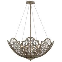 Savoy House 7-8061-6-45 Hartland 6 Light 32 inch Aged Wood Pendant Ceiling Light