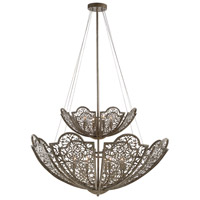 Savoy House 7-8062-12-45 Hartland 12 Light 42 inch Aged Wood Pendant Ceiling Light