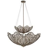 Savoy House 7-8062-12-45 Hartland 12 Light 42 inch Aged Wood Pendant Ceiling Light